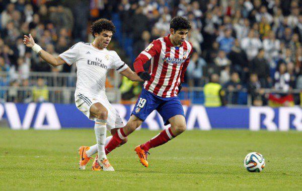 Pepe y Diego Costa tuvieron sus más y sus menos en la semifinal copera/ Pablo Moreno