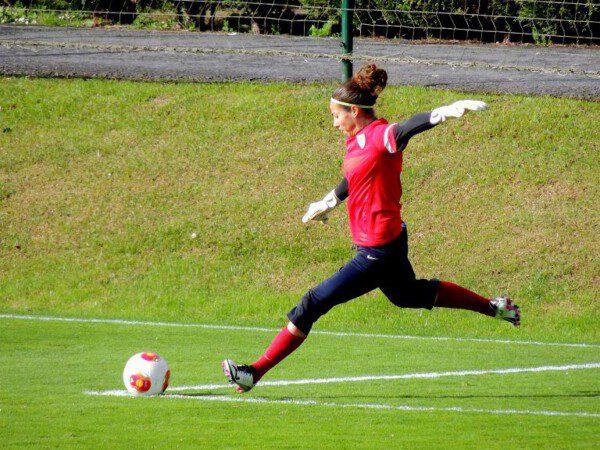 Para Ainhoa se cumpliría un sueño si llega a disputar con España un mundial/ A. Tirapu