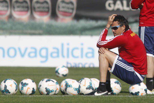 Luis Enrique vive su primera experiencia en la Liga BBVA/ Jorge Landín