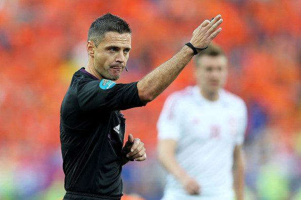 Damir Skomina, el árbitro señalado por Amadeo Salvo/ Getty Images