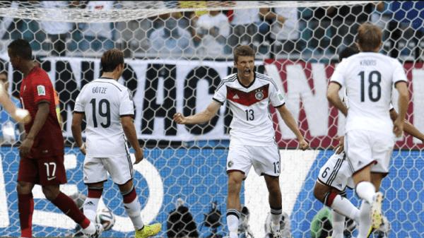Thomas Müller se ha lució ante Portugal/ AP