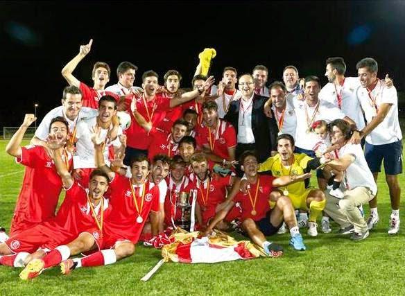 El Sevilla Juvenil se alzó con la Copa del Rey/ RFEF