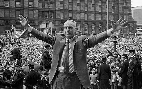 Bill Shankly, técnico que marcó la vida de McInnes/ Getty Images