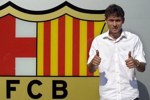 Keirrison nunca llegó a debutar con el Barcelona/ EFE