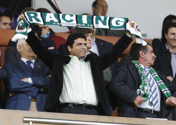 Ali Syed engañó a toda la afición del Racing/ José Ramón González