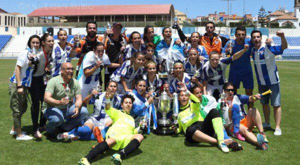El Sporting de Huelva ha puesto el foco de atención en el fútbol femenino andaluz/ RFEF