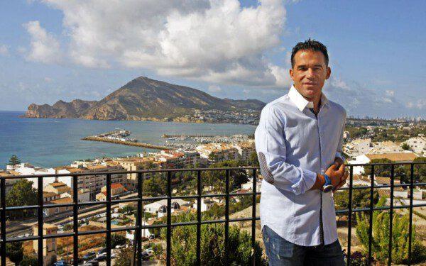 Luis García Plaza atendió gustosamente las preguntas de La Paradinha/ MHM