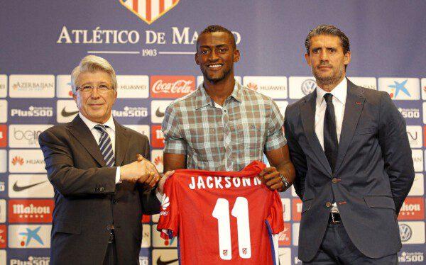 Jackson Martínez es la nueva referencia ofensiva del Atlético/ Ángel Rivero