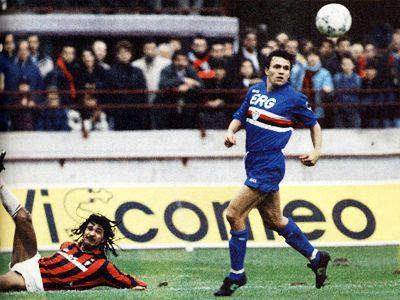 Milan y Sampdoria protagonizaron en 1990 la primera Supercopa de Europa fraticida/ TuttoSport