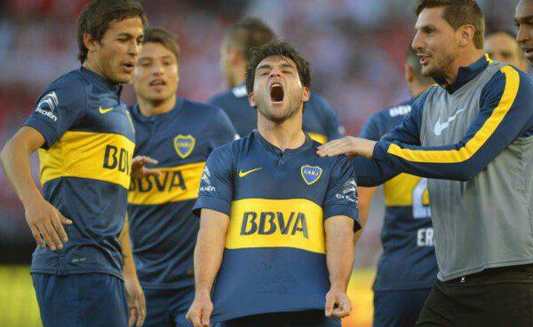 EL Boca Juniors salió reforzado del 'Superclásico'/ EFE
