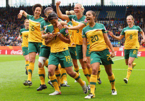 Las Matildas en huelga por salario digno/ Getty Images