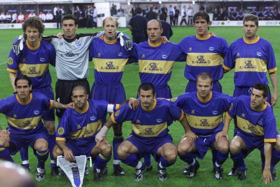 Once inicial del Alavés de aquella final de la UEFA en Dortmund/ EFE