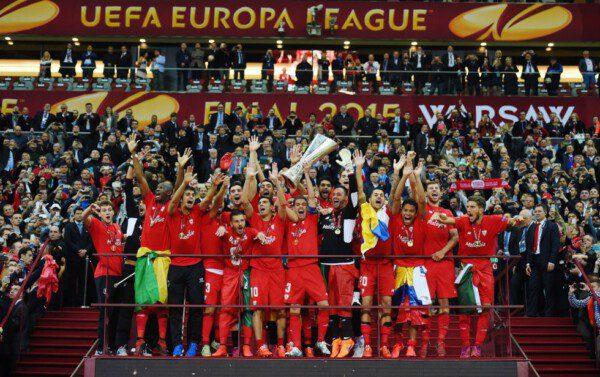 El Sevilla se convirtió en el equipo con más títulos de Europa League/ Getty Images