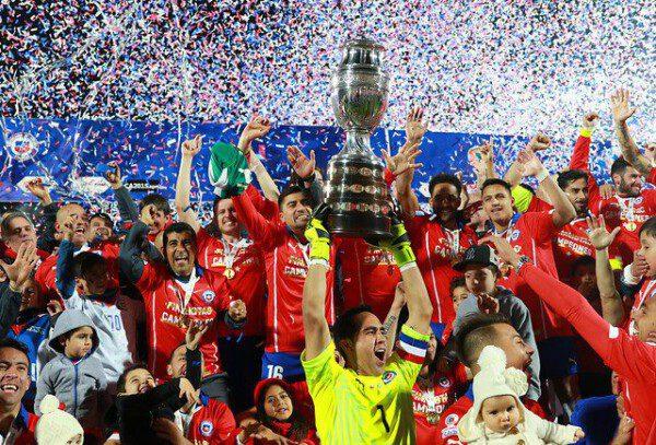 Chile por fin se coronó como campeón de América/ Récord