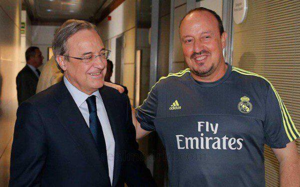 Florentino Pérez ha jugado al despiste con respecto a la continuidad o no del ya cesado Rafa Benítez/ R.C.