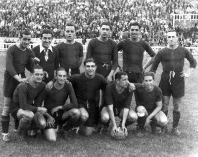 El Barcelona se coronó campeón de la Liga del Mediterráneo de 1937/ CIHEFE