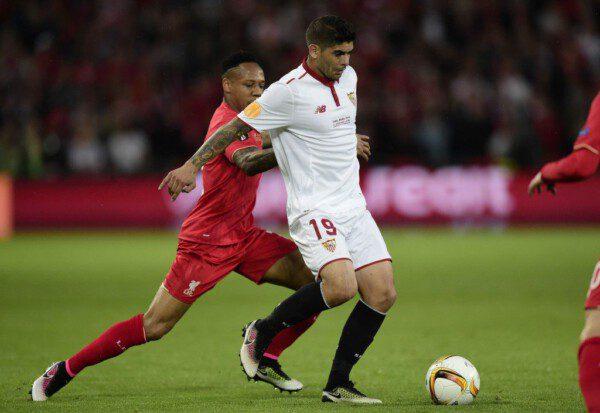 Éver Banega ha sido uno de los puntales del Sevilla en esta Europa League/ Reuters