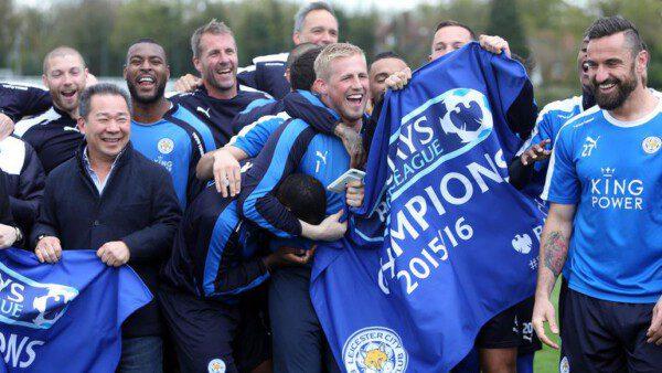 El Leicester se ha proclamado campeón de la Premier League/ Sky Sports