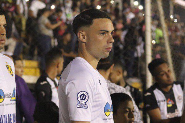 Pablo Gállego antes de la final de la Copa Nicaragua en 2019/