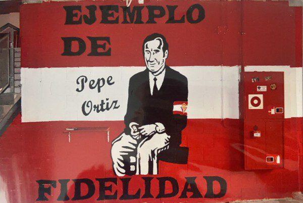 Mural Pepe Ortiz Sporting